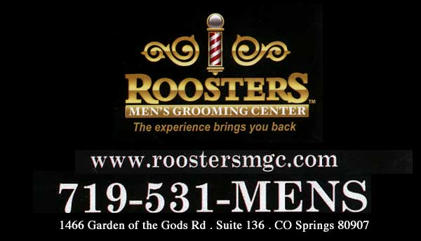 Roosters, Mens Grooming Center